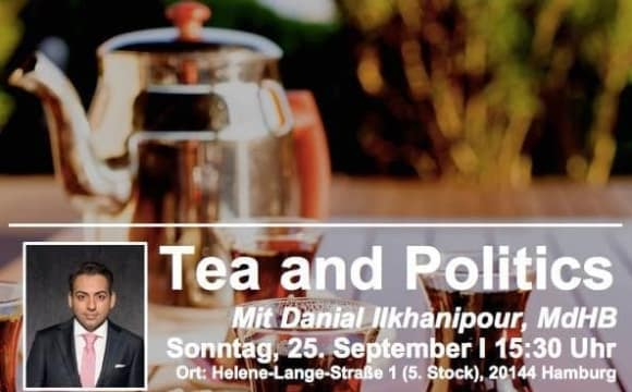 Tea and Politics with Danial Ilkhanipour, MdHB (Sprechstunde auf Farsi)