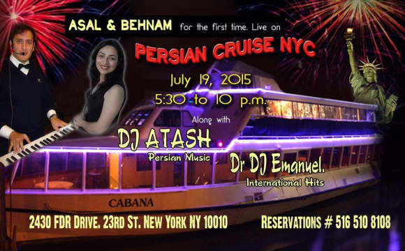 Persian Concert on the Cruise NYC.