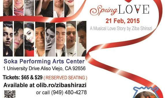 Spring Love A Musical Love Story by Ziba Shirazi