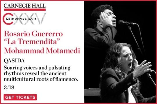Qasida: Rosario Guererro La Tremendita with Mohammad Motamedi