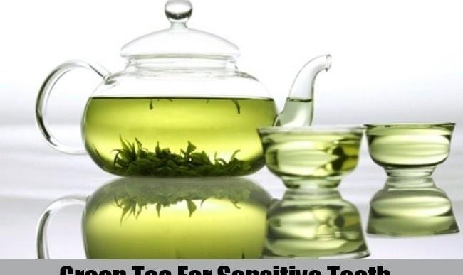 درمان دندانهای حساس با عصاره چای سبز