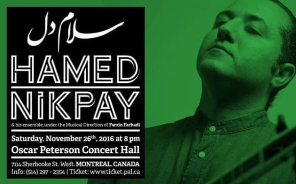 Hamed Nikpay live In Montreal