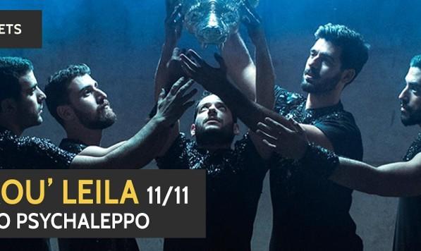Mashrou' Leila with Hello Psychaleppo (post-show DJ set)