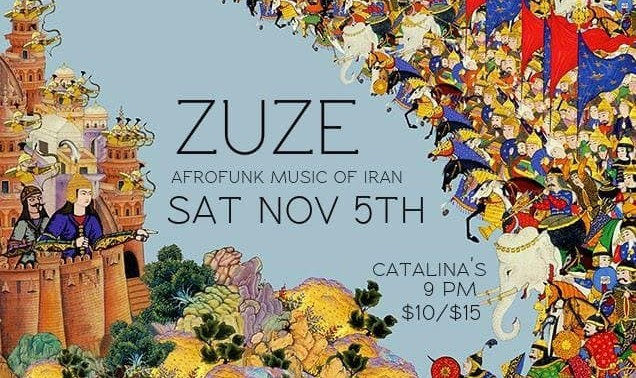 Zuze in PTBO: Afrofunk Music of Iran
