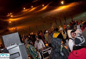 Tehran's night ski resort shut down after opening party (Pictures)