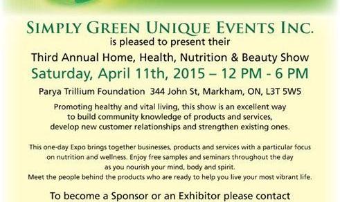 Third Annual Eco Health Show