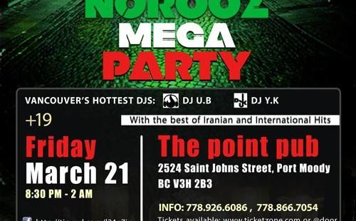 Nowruz Mega Party