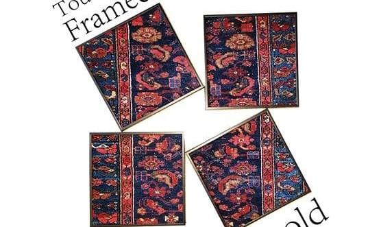 نمایشگاه فرشهای آنتیک ایرانی در قاب
