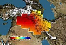 کمبود جدی آب، خطر پیش روی ایران (تصاویر جدید ماهواره ای)