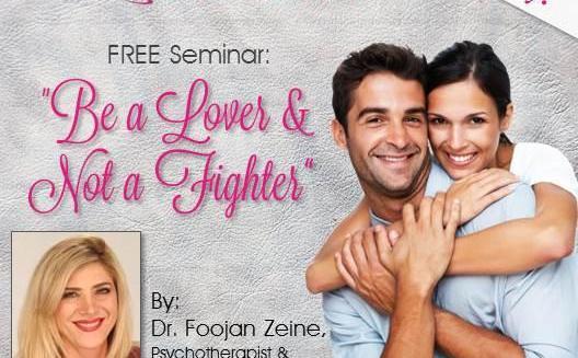 Party Bravo EXPO - FREE Seminar - by Dr. Foojan Zeine