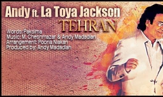 """Andy featuring La Toya Jackson: """"Tehran"""" (Video)"""