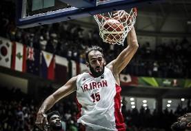 حامد حدادی نخستین بازیکن ٧٠٠ امتیازی تاریخ بسکتبال آسیا شد
