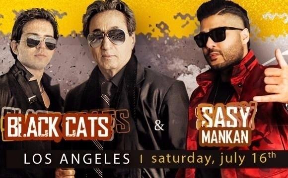 کنسرت ساسی مانکن و بلاک کتز در لس آنجلس
