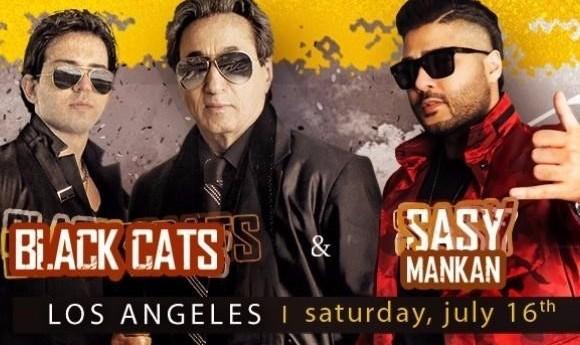 Sasy Mankan & Black Cats Live in Los Angeles