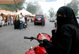 Saudi women can drive motorcycle and trucks too