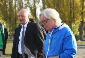 German Ambassador in Tehran visits Esteghlal Camp