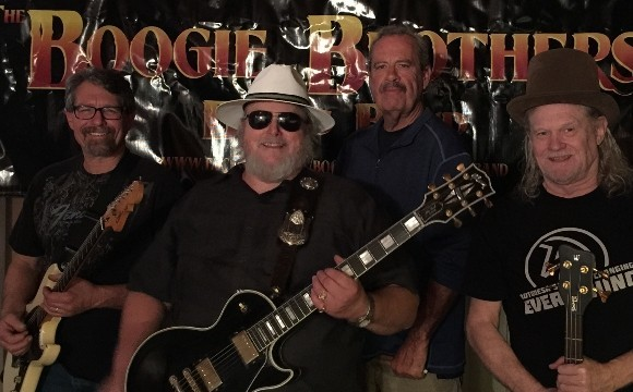 Valentine's weekend: Boogies brothers Blues band and Nader (Guitar)