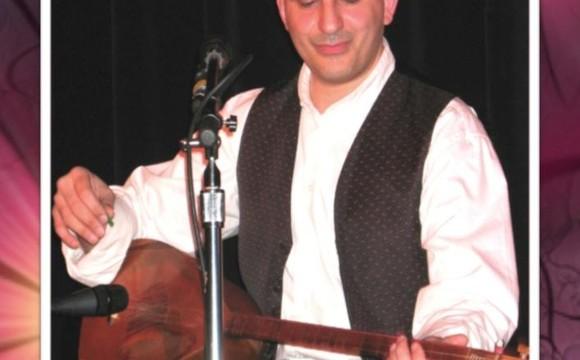 Amir Vahab at Parmys Persian Fusion Restaurant