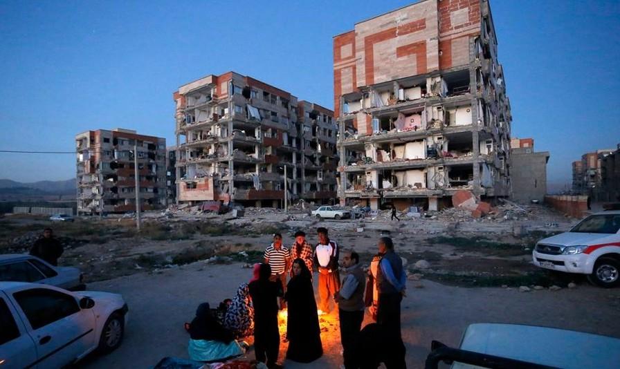 زلزله۳.۶ ریشتری حوالی قصرشیرین را لرزاند