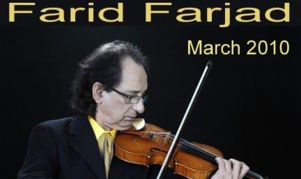 کنسرت نوروزی فرید فرجاد در آنتالیا