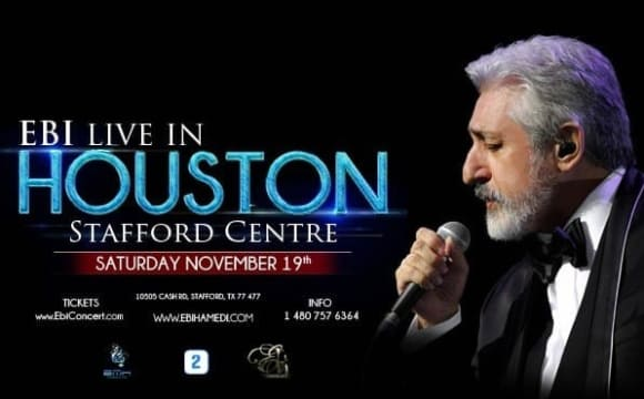 Ebi Live in Concert in Houston