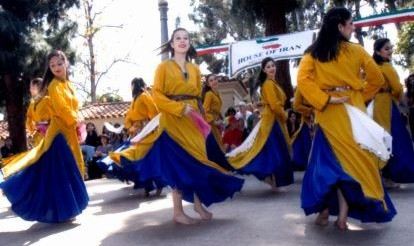 Persian Dance Classes by Dr. Laurel Victoria Gray