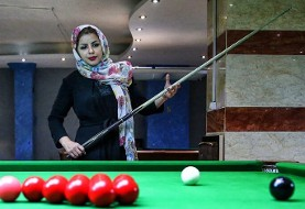 Iran wins first ever women's snooker medal in Asian Billiards