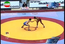 Iran defeats America in Wrestling World Cup 2013 (video)