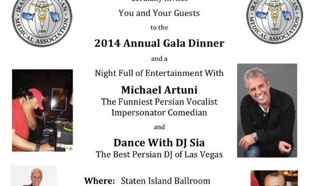 Iranian american medical association 21st annual meeting and gala dinner