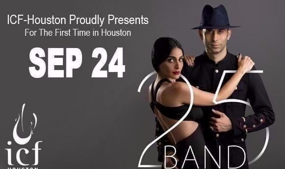 25 Band Live in Concert in Houston