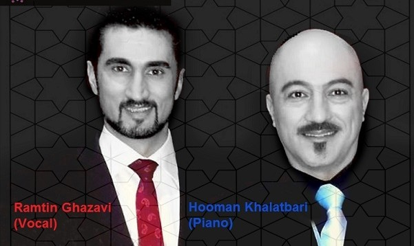 Hooman Khalatbari and Ramtin Ghazavi (Tenor at Milan's Teatro alla Scala), in Concert