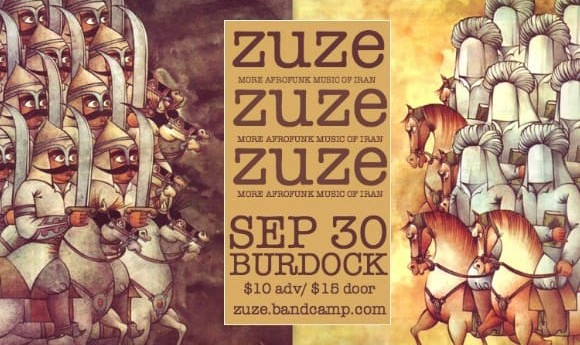 ZUZE: Folk Melodies of Iran and Azerbaijan set to Afrobeat Rhythms