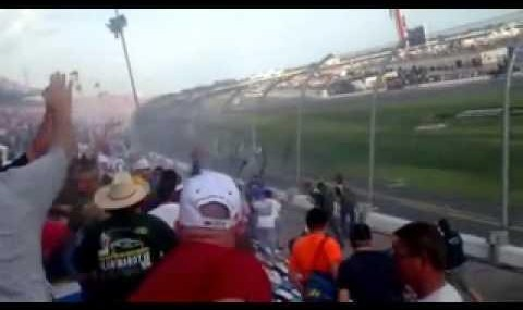 Youtube vs. NASCAR: Video of scary crash injuring many