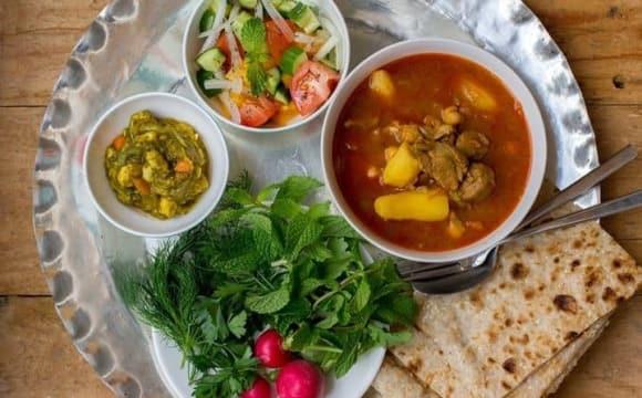 Persian Abgoosht Feast