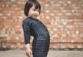 این لباس هوشمند و خارق العاده همراه با کودک شما بزرگ می شود!