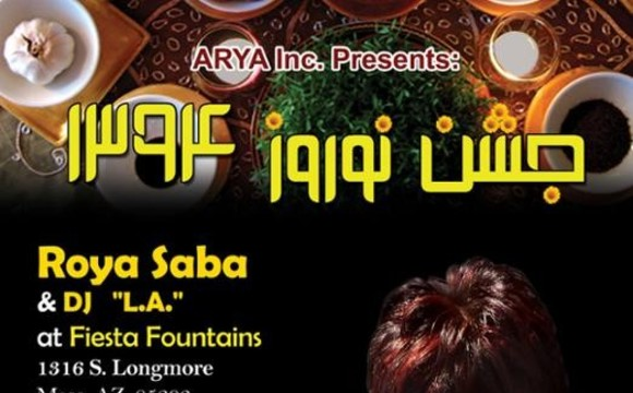 NOWROUZ 2015 Celebration With Roya Saba & dj. L.A