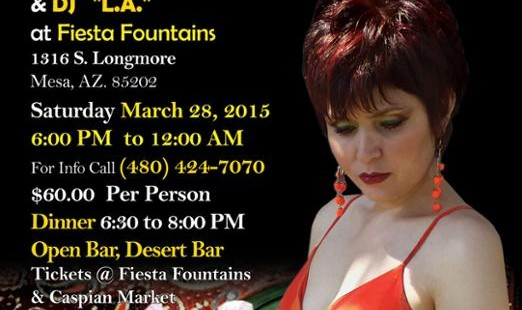 NOWROUZ 2015 Celebration With Roya Saba & dj. L.A