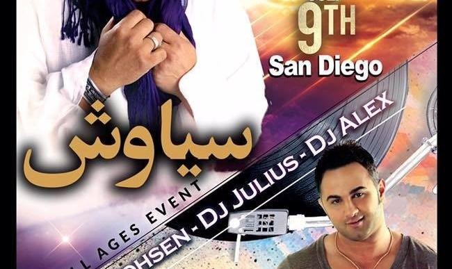 Siavash Shams & Shirzad Live in San Diego