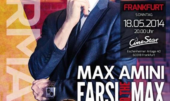 Farsi to the Max: Max Amini in Germany