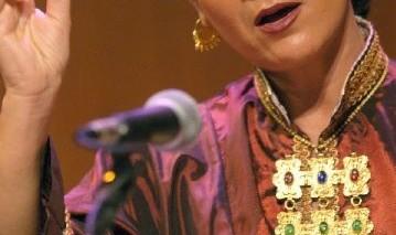 Parissa in Muslim Voices Festival New York 2009