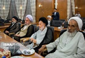 سومین اجلاسیه رسمی دوره پنجم خبرگان رهبری با میهمانی شام پایان یافت (عکس)