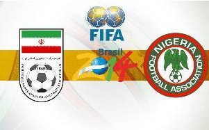 Iran vs. Nigeria World Cup Match