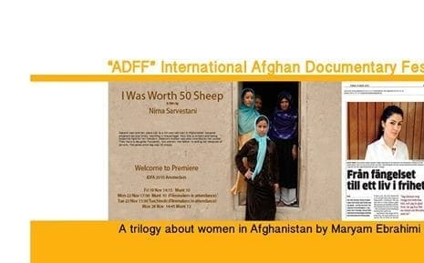 4th International Documentary Film Festival Afghan