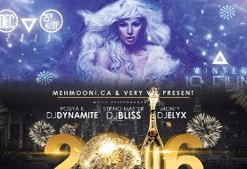 New Year's Eve ۲۰۱۶: Winter is FUN edition