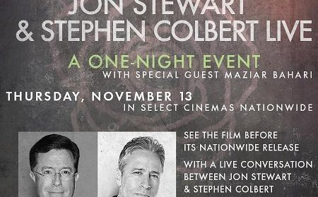 Screening of Rosewater & interview with Jon Stewart, Steven Colbert & Maziar Bahari