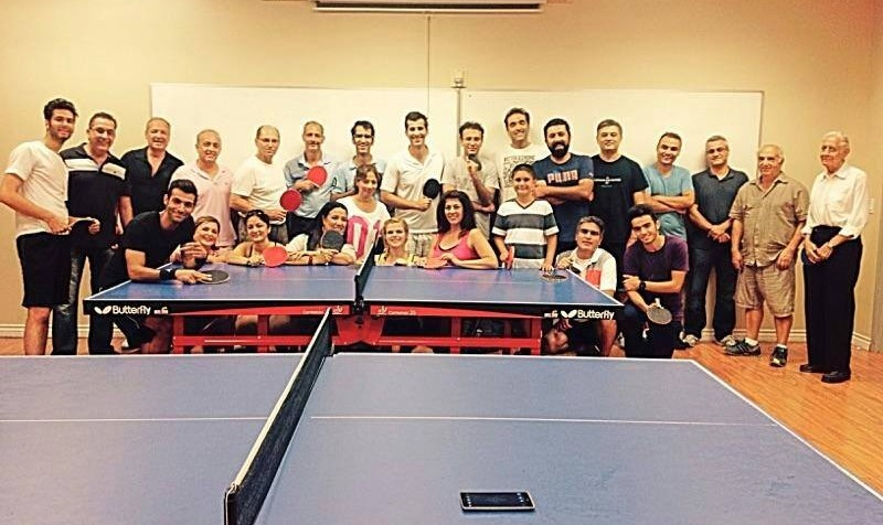 Persian Community Ping Pong Night in Orange County