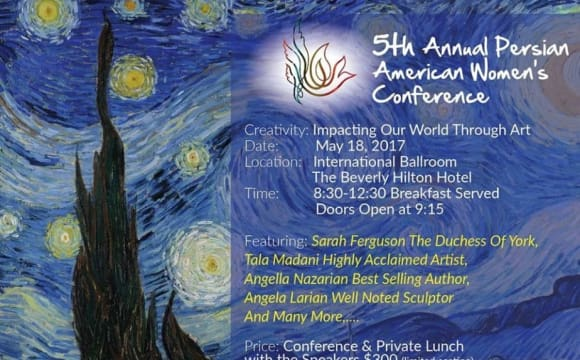 5th Annual Persian American Women's Conference