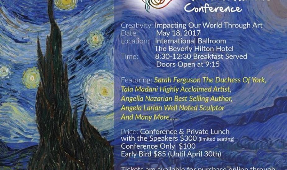 کنفرانس سالانه بانوان ایرانی آمریکایی، سخنرانی عروس سابقه ملکه انگلیس