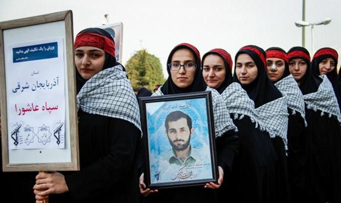 Iran's Revolutionary Guard Women Corps athletes (images)