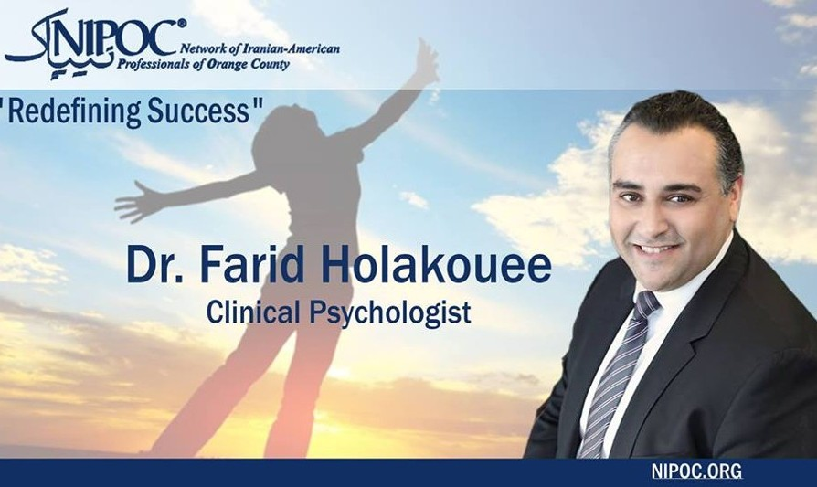 NIPOC Event: Redefining Success with Dr. Farid Holakouee